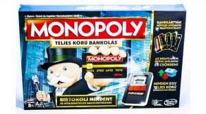 Monopoly Teljeskörű Bankolás